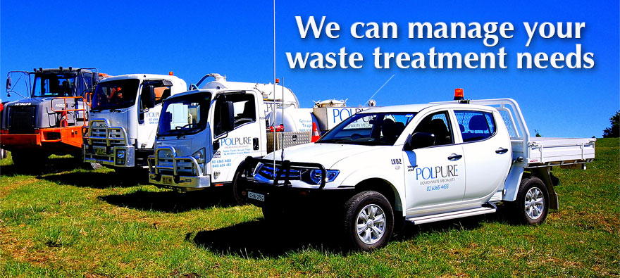 Polpure - We can manage your waste treatment needs