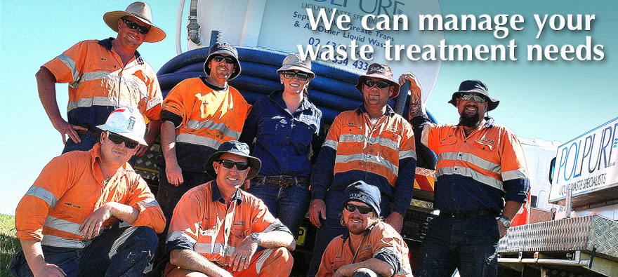 About Polpure - We can manage your waste treatment needs